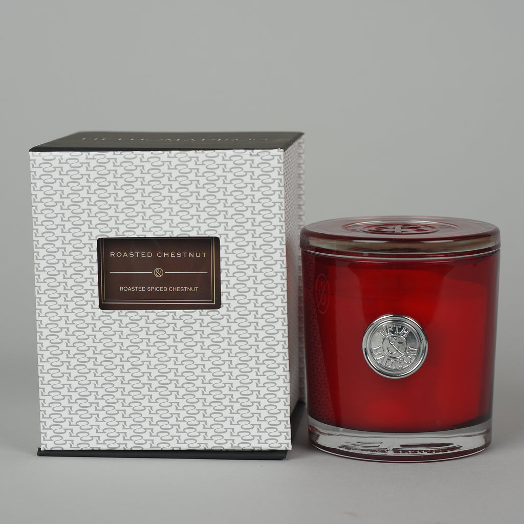 ROASTED CHESTNUT GREENWICH SINGLE WICK