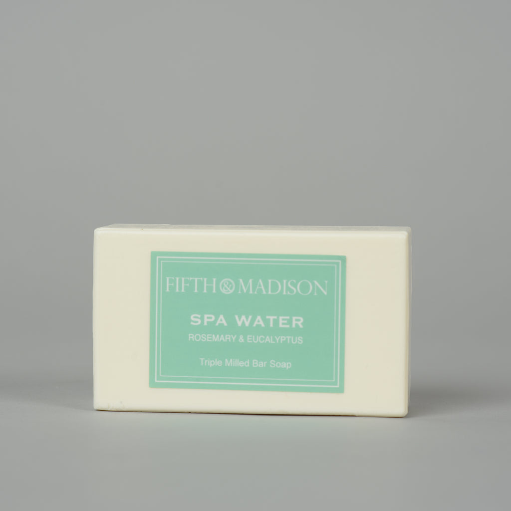 SPA WATER TRIPLE MILLED SOAP