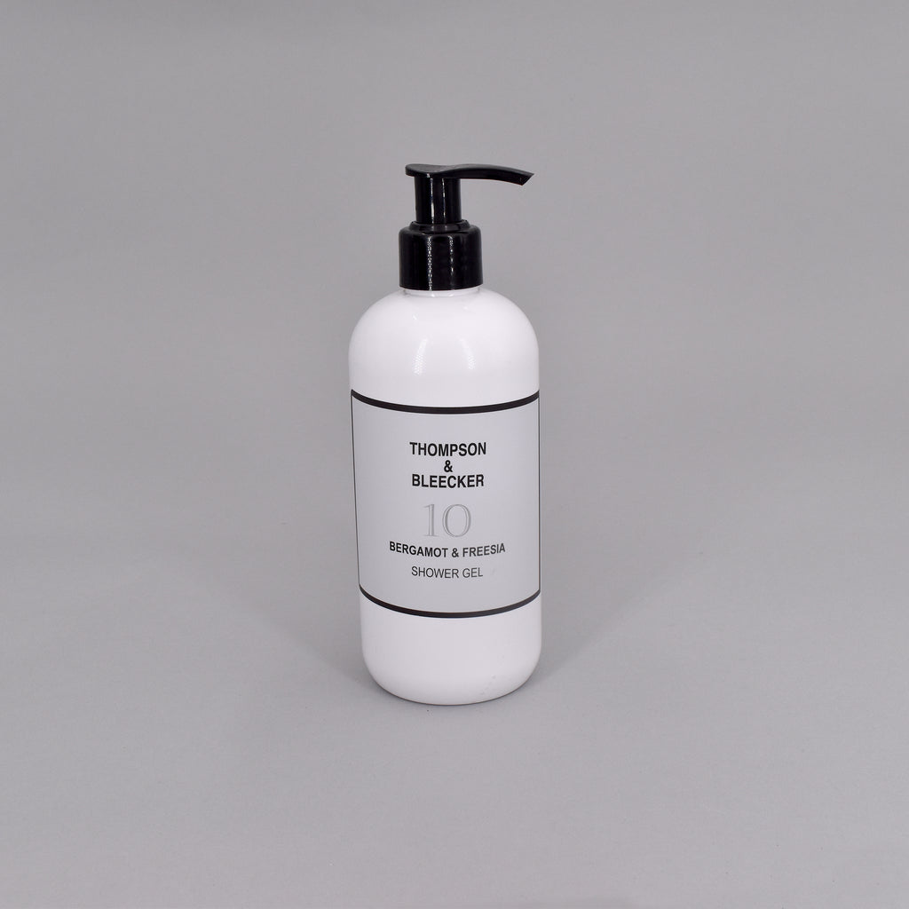 #10 BERGAMOT & FREESIA SHOWER GEL