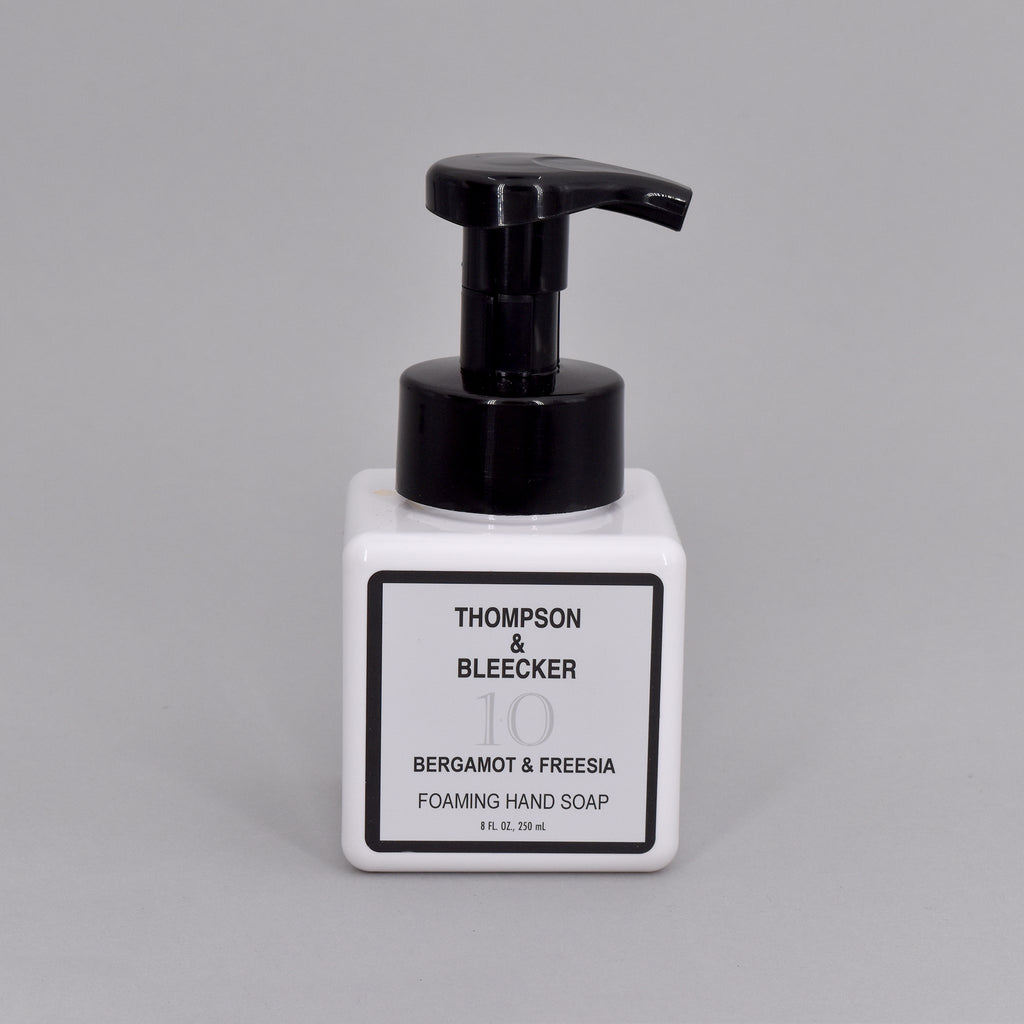 #10 BERGAMOT & FREESIA FOAMING HAND SOAP