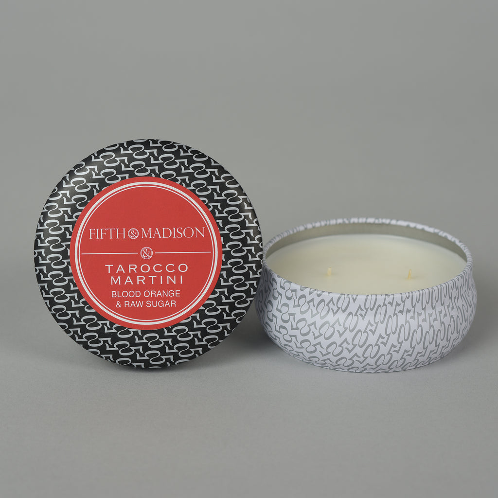 TAROCCO MARTINI TWO WICK TIN