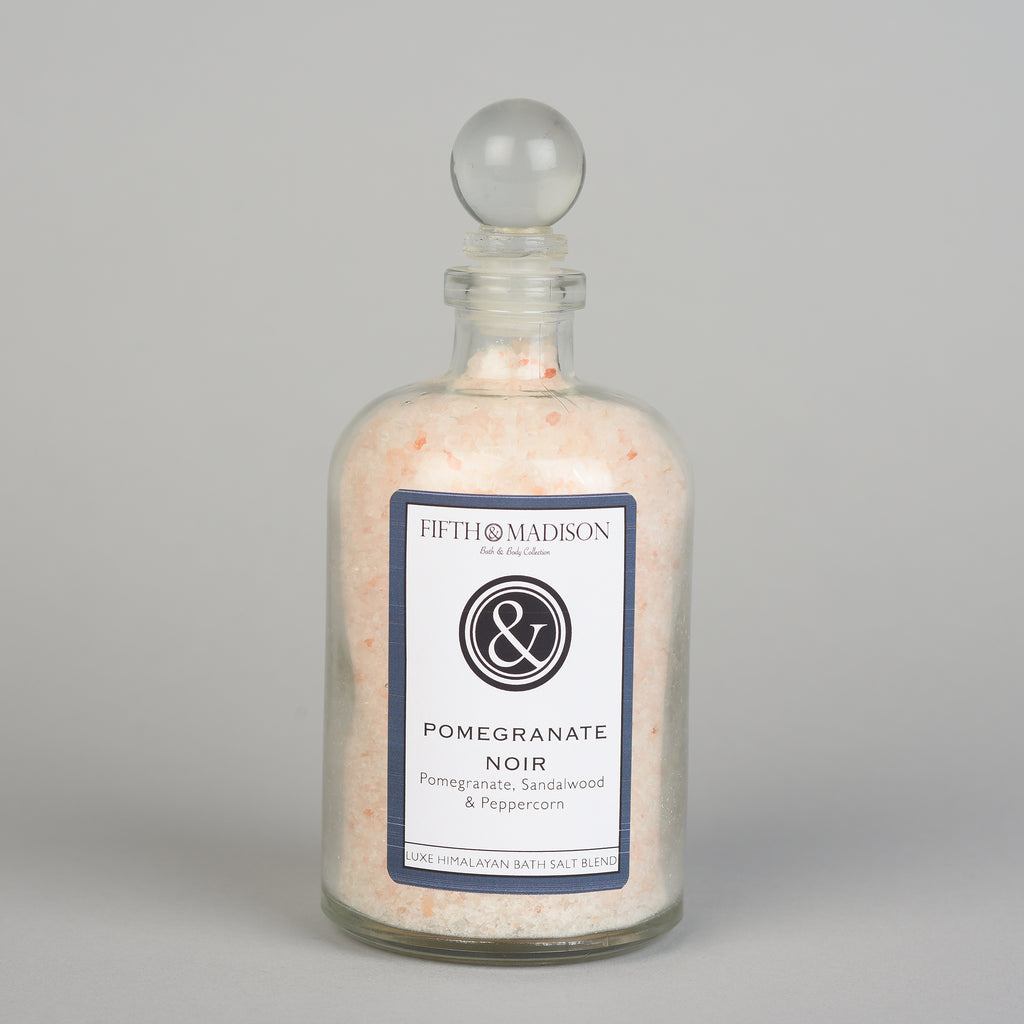Pomegranate Noir Luxe Jar Bath Salts