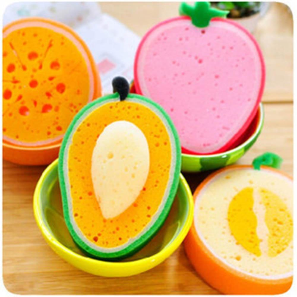 2PCS Fruits Sponges