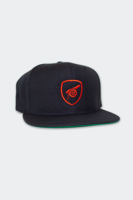 Unofficial Arsenal FC Crest and Cannon Snapback Hat