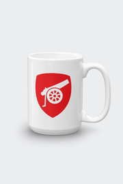 Arsenal FC Mug 15oz Wake up. Drink Coffee. Beat Chelsea.