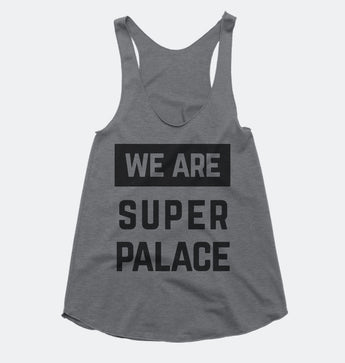 We Are Super Palace - Crystal Palace FC - Tri-blend Racerback Tank