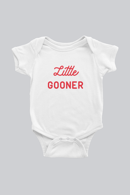 Little Gooner Arsenal Inspired Infant Bodysuit