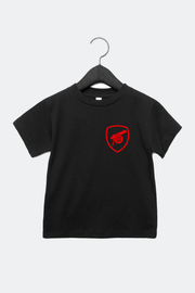 Arsenal Inspired Cartoon Crest Infant Child T-Shirt
