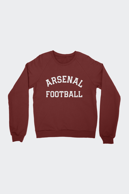 Arsenal FC Collegiate Raglan Sweatshirt