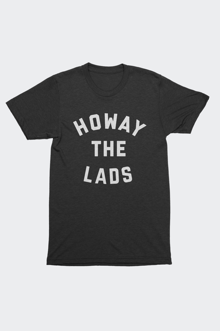 Newcastle United FC Inspired T-Shirt Howay the Lads