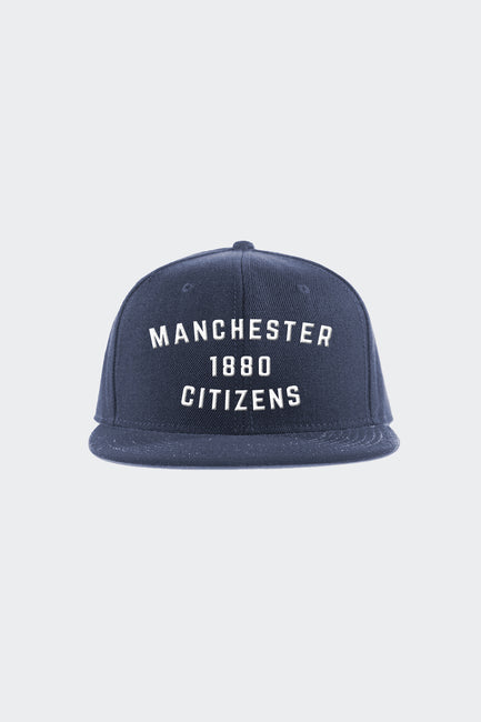 Manchester City Throwback Snapback Hat