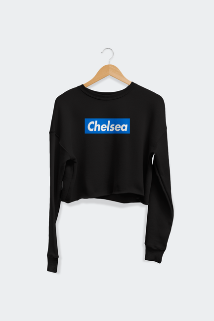 Chelsea Women's Cropped Crew Fleece