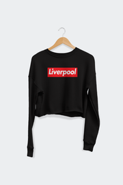 Liverpool Women's Cropped Crew Fleece