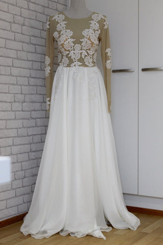 custom made wedding gown