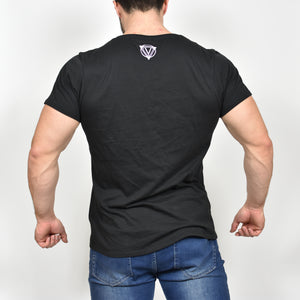 Vitruvian Muscle t-shirt - Black