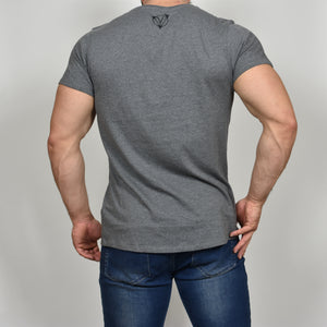 Vitruvian Muscle t-shirt - Dark Grey