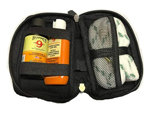 12 Gauge Shotgun Cleaning Kit with Bore Snake, Bore Cleaner and Lube Oil in Case