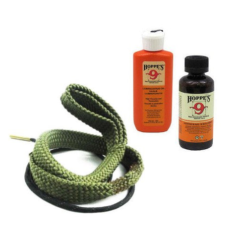 Westlake Market 9mm Quality Gun Cleaning Bore Snake, Bore Cleaner and Lube Oil Also .357.38.380 Caliber