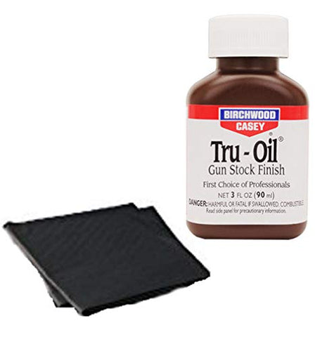 Westlake Market, Birchwood Casey Tru-Oil Gun Stock Finish with Two Disposable Absorbent Pads