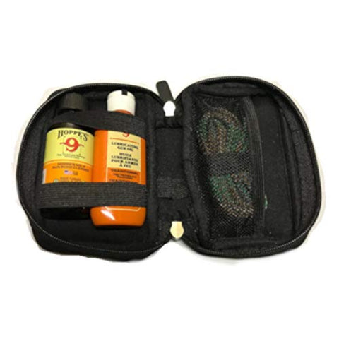 Westlake Market 40 Caliber Quality Gun Cleaning Bore Snake, Bore Cleaner and Lube Oil in Neoprene Case Fits .40 Cal Guns