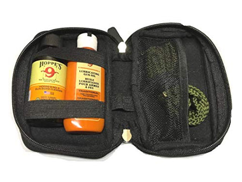 Westlake Market 9mm Quality Gun Cleaning Bore Snake, Bore Cleaner and Lube Oil in Neoprene Case Also .357.38.380 Caliber