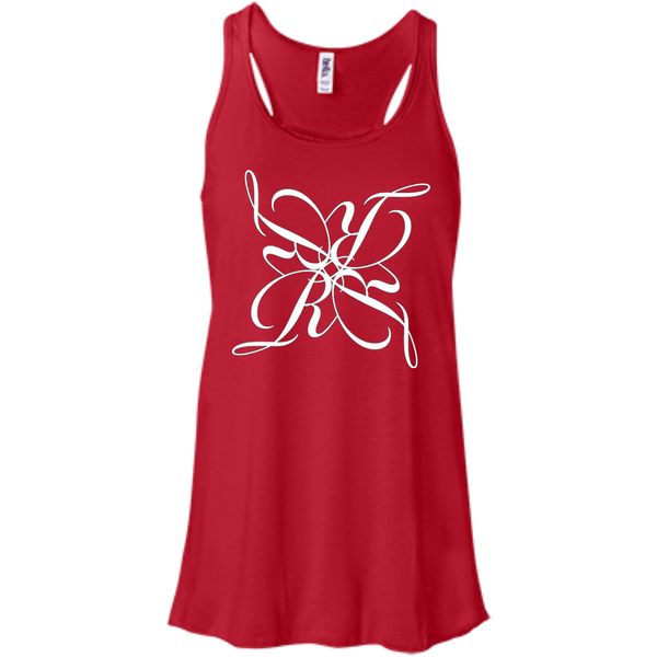 Bella+Canvas Juniors Flowy Racerback Tank