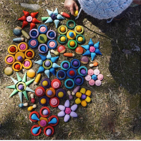 Grapat Mandala Play Ideas photo by @nester.wanders