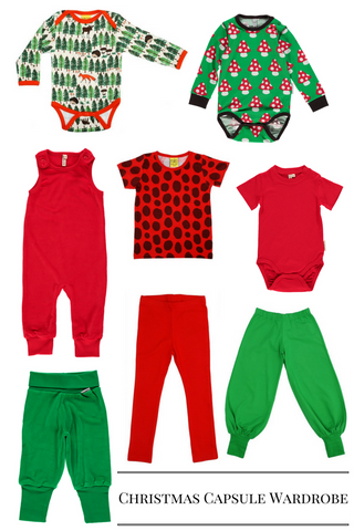 Children's Christmas Capsule Wardrobe
