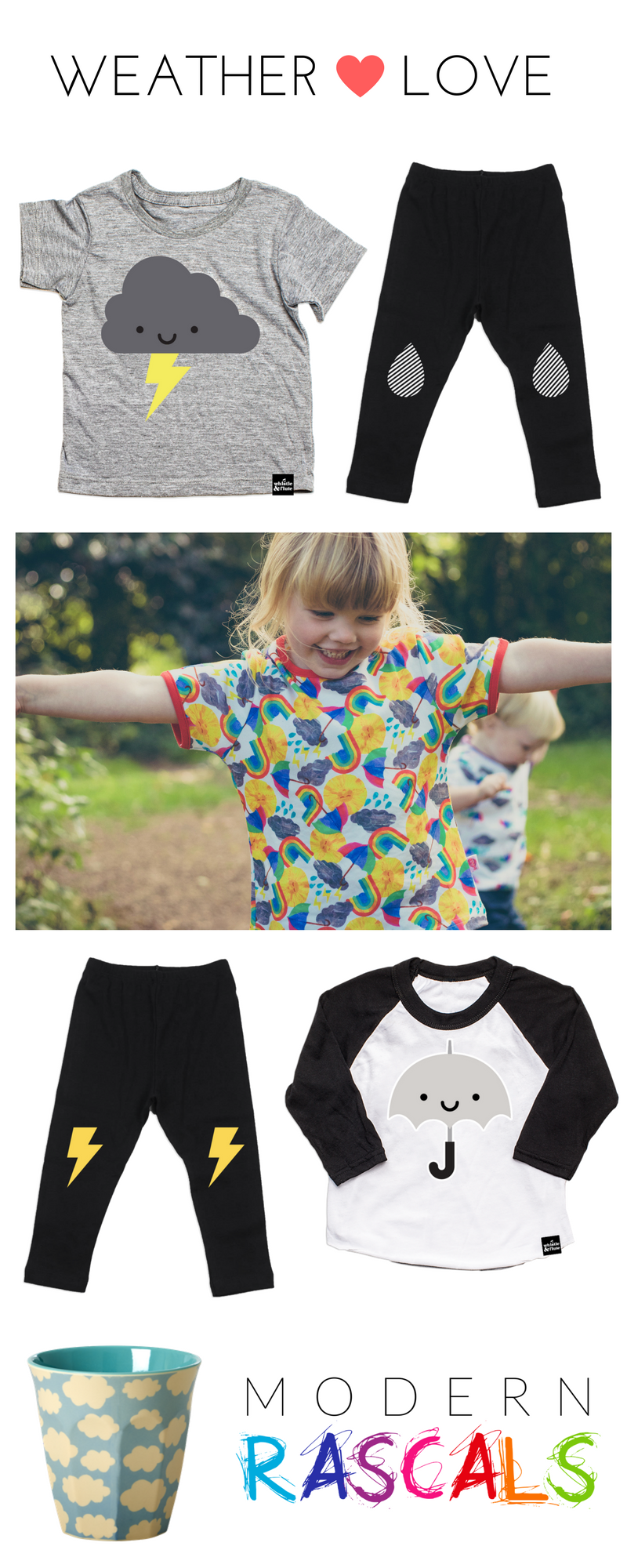 Modern Rascals Kids Weather Favourites Look Book
