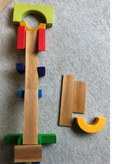 Grimms Basic Building Block Set Marble Run How To