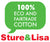 Sture & Lisa Logo 100% organic and fair trade cotton