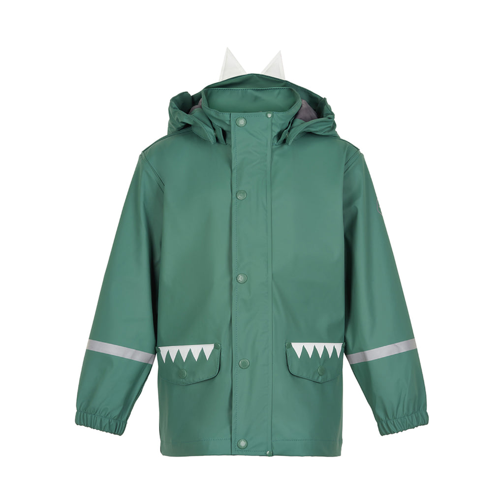 Bush Green Lizard Rain Coat