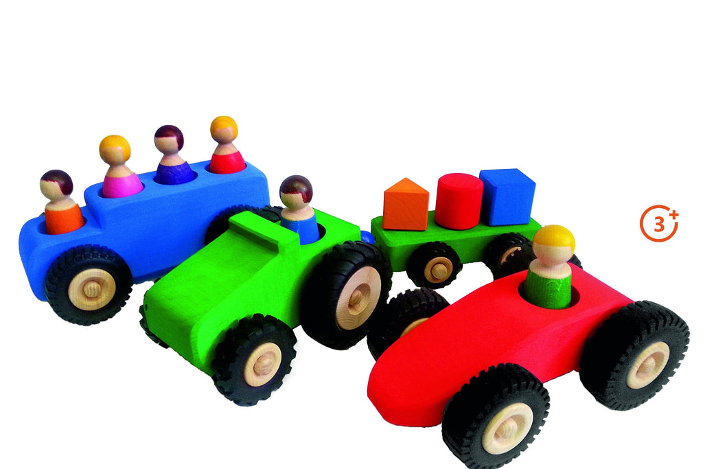 Wooden Vehicles - Large