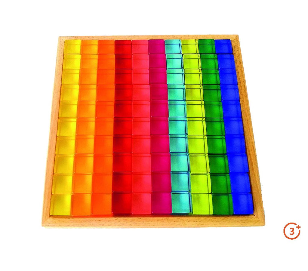 Translucent Cubes - 100 pieces