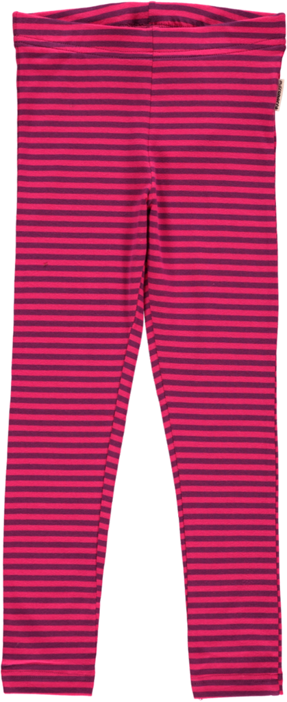 Pink / Purple Striped Leggings