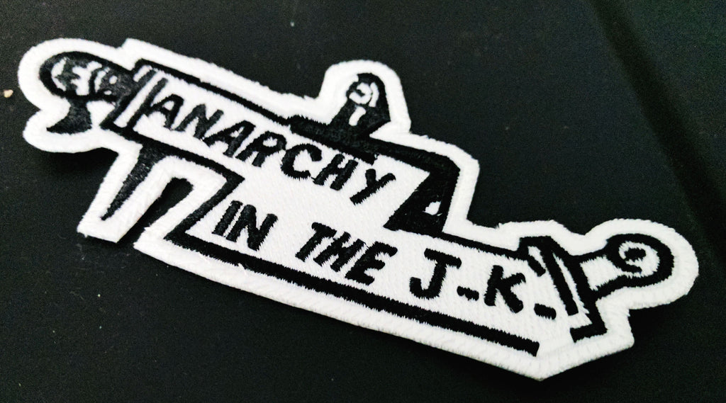 Anarchy in the JK Patch by Modern Rascals Organic Cotton Toddler Kids Clothes from Modern Rascals