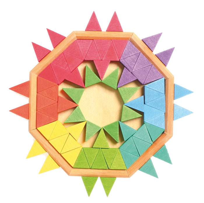Mini Creative Puzzle Octagons Puzzle - 72 pieces