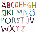 Learning - Alphabetic Letters Set