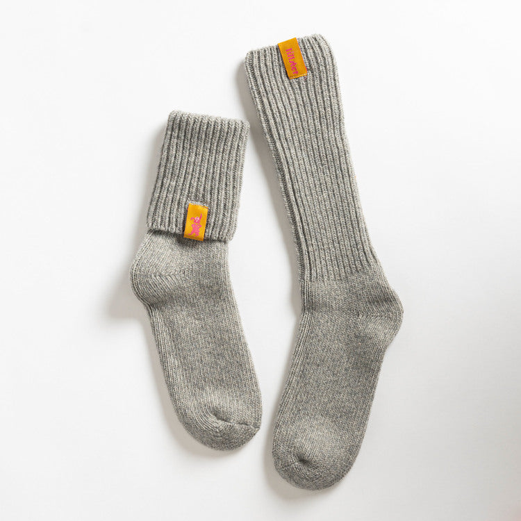 Granite Wool Adult Socks
