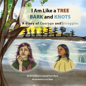 I Am Like a TREE: BARK and KNOTS - A Story About Courage and Struggles, paperback
