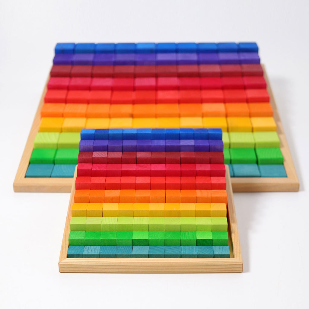 Stepped Learning Counting Blocks - 4cm scale