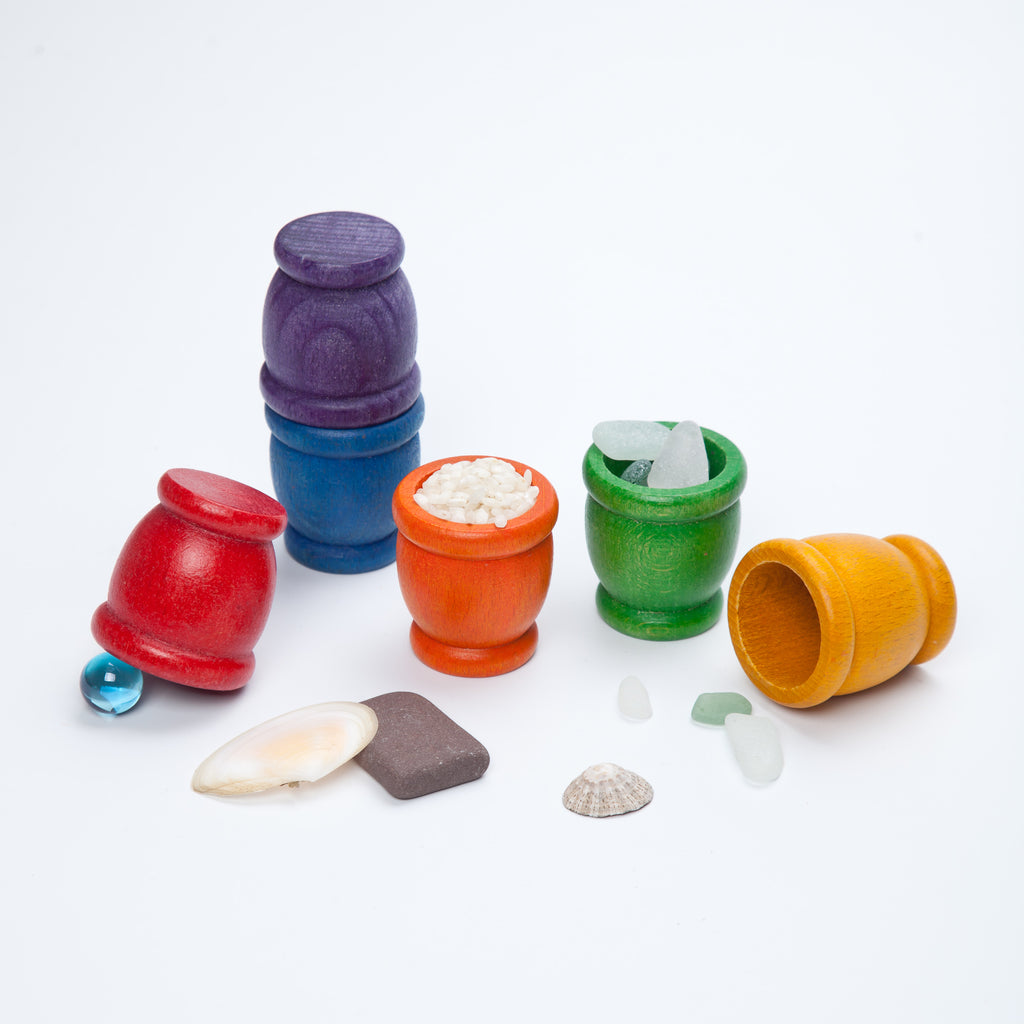 Mates - 6 pieces in Rainbow Colours