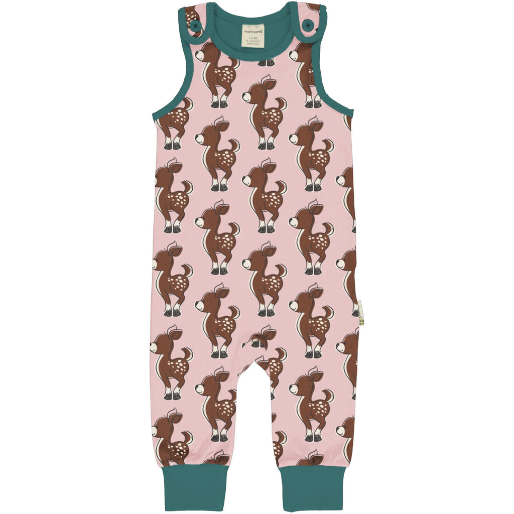 Fawn Playsuit - 2 Left Size 6-12 months & 1-2 years