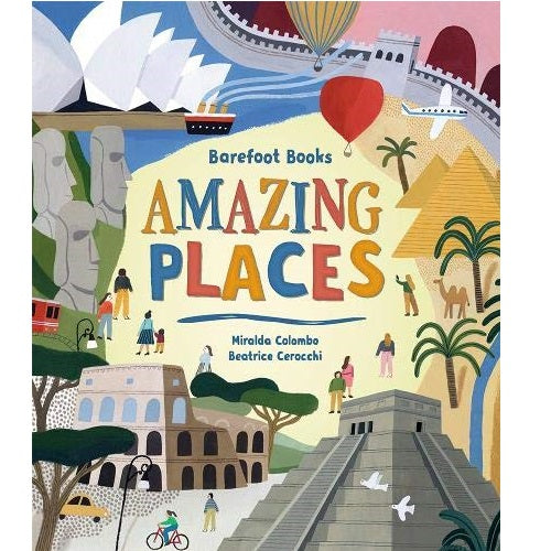 Barefoot Books Amazing Places, Hardcover