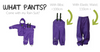 Classic Rain Suit Set - Purple by CeLaVi Organic Cotton Toddler Kids Clothes from Modern Rascals