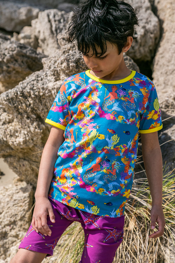 Pearl And Merin The Ocean's Gardeners Short Sleeve Shirt