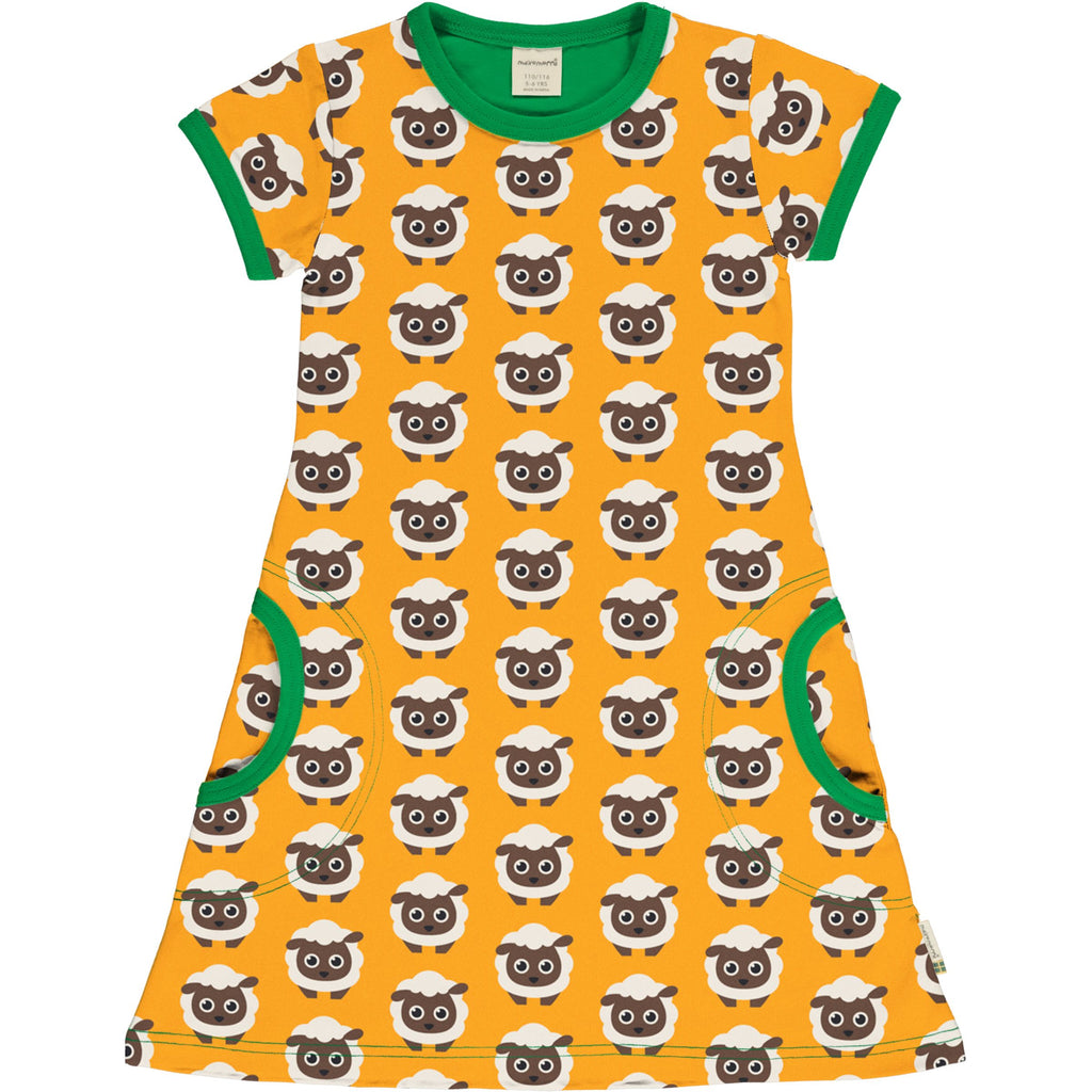 Sheep Short Sleeve Dress