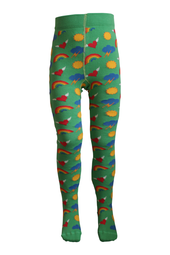 Retro Rainbow Tights - 1 Left Size 0-6 months