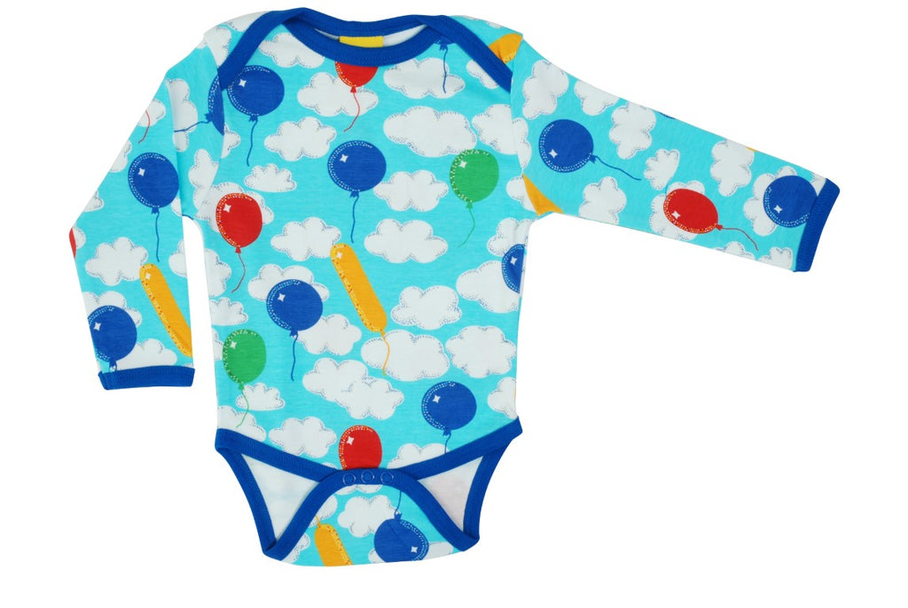 A Cloudy Day Long Sleeve Onesie