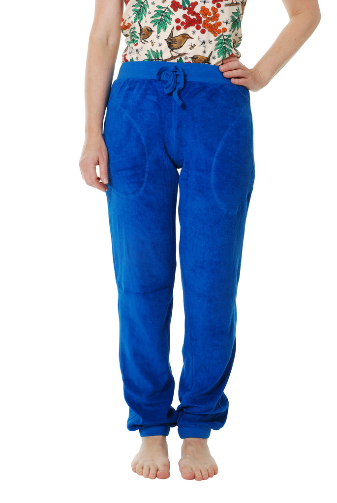 Adult's Blue Terry Trousers